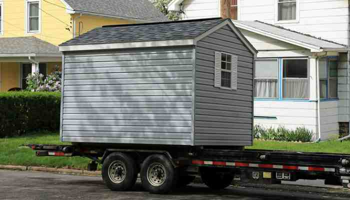 Hire a moving company near me to move my shed out of my backyard. How much will it cost and can I get cheap pricing.
